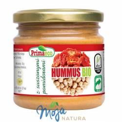 Hummus z suszonymi pomidorami BIO 160g PRIMAECO