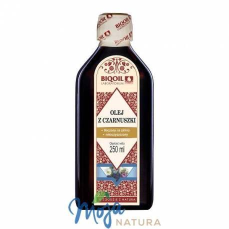 Olej z czarnuszki tłoczony na zimno 250ml BIQOIL