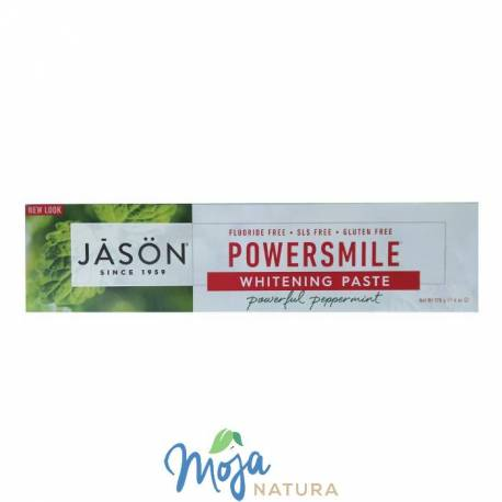Pasta do zębów wybielająca Power Smile 170g JÄSÖN