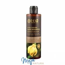Szampon do włosów ultra objętość olej ylang ylang, kompleks roślinnych protein 250ml ECO LABORATORIE