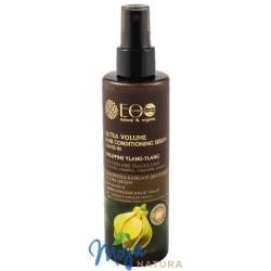 Serum do cienkich i łamliwych włosów, ultra objętość, filipiński ylang ylang, kompleks ceramidów 200ml ECO LABORATORIE