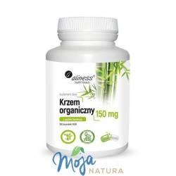 Krzem organiczny z pędów bambusa 150mg 100kaps MEDICALINE