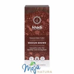 Naturalna Henna Średni Brąz 100g KHADI