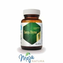 Wrotycz i Tymianek (Tansy&Thyme) 90kaps HEPATICA