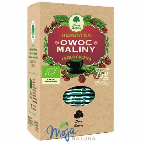 Owoc Maliny herbatka EKO 25x3g DARY NATURY