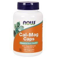 Cal-Mag + witamina D 120kaps NOW