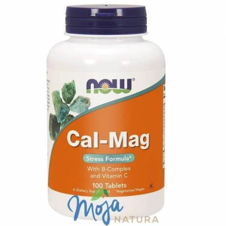 Cal-Mag Stress Formula 100tabl NOW