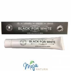 Czarna wybielająca pasta do zębów z węglem BLACK FOR WHITE 75ml BIO2YOU