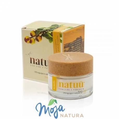 Krem liftingująco-odżywczy z ekstraktem z acmelli 50ml NATUU