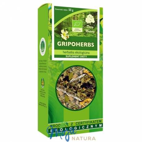 GRIPOHERBS herbatka ekologiczna 50g DARY NATURY