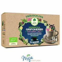 GRIPOHERBS herbatka EKO 25x2g DARY NATURY