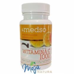 Witamina C Kwas L-askorbinowy 1000mg 50tabl MEDSO