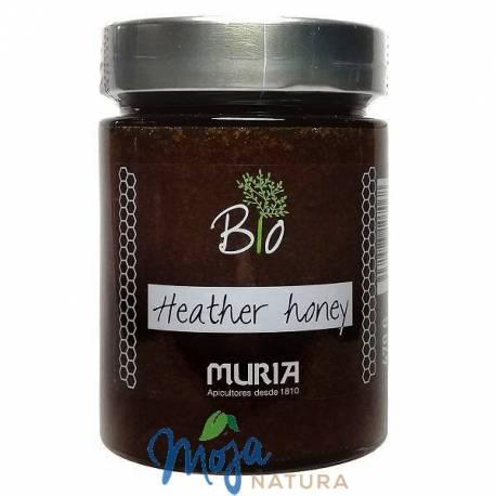 Miód nektarowy Wrzosowy BIO 470g MURIA