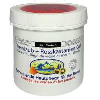 Weinlaub + rosskastanien gel 250ml DR.SACHER's