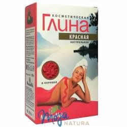Glinka kosmetyczna czerwona 100g MEDIKOMED