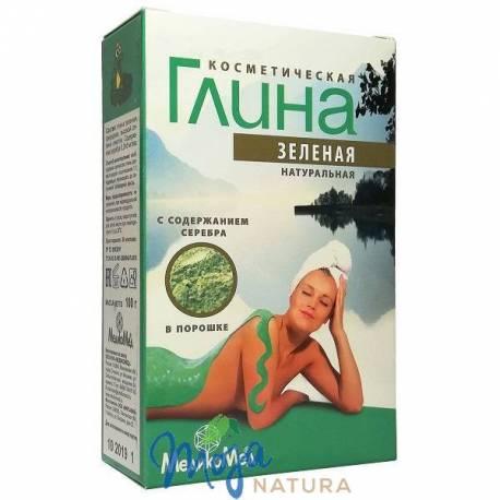 Glinka kosmetyczna zielona 100g MEDIKOMED