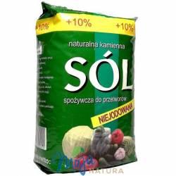 Sól kłodawska niejodowana 1100g KOPALNIA SOLI KŁODAWA