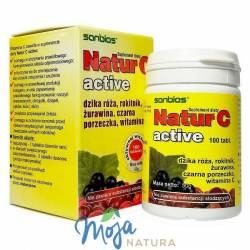 Natur C active 100tabl SANBIOS
