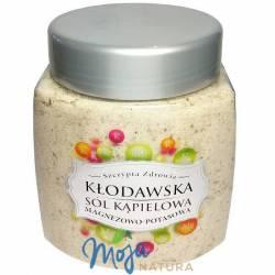 Sól Kąpielowa Kłodawska Magnezowo-Potasowa 800g KOPALNIA SOLI KŁODAWA