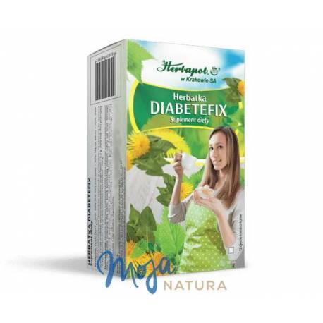 Herbatka Diabetefix 40g HERBAPOL KRAKÓW