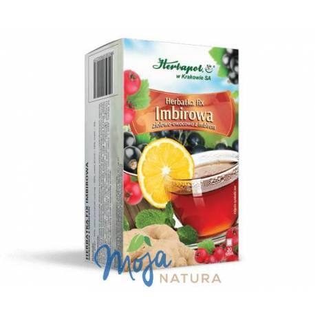 Herbatka fix Imbirowa 60g HERBAPOL KRAKÓW