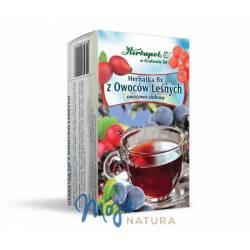 Herbatka fix z Owoców Leśnych 60g HERBAPOL KRAKÓW