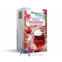 Herbatka fix Żurawinowa 60g HERBAPOL KRAKÓW