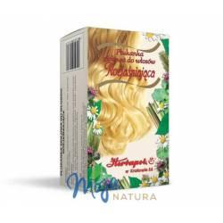 Płukanka ziołowa do włosów Rozjaśniająca 54g HERBAPOL KRAKÓW