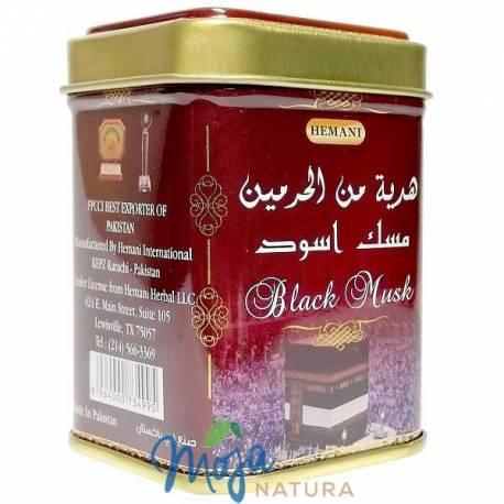 Perfumy Arabskie w kostce Czarne Piżmo 25g HEMANI