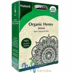 Organiczna Henna do włosów Naturalna 100g HEMANI