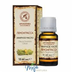 Olejek eteryczny z trawy cytrynowej (lemon grass) 10ml AROMATIKA