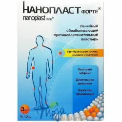 Plaster Przeciwzapalny Nanoplast 3szt NANOTECH