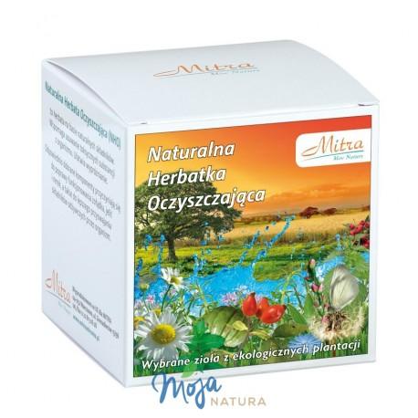 Naturalna Herbatka Oczyszczająca 60g MITRA