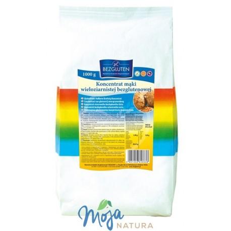 Koncentrat mąki wieloziarnistej 1000g BEZGLUTEN