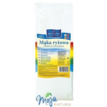 Mąka ryżowa 500g BEZGLUTEN