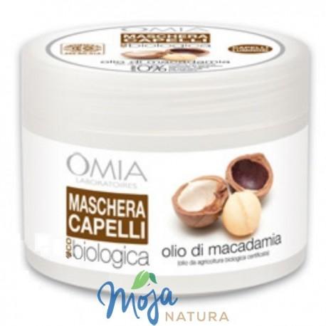 Maska Do Włosów Z Olejkiem Z Orzechów Makadamia 250ml OMIA